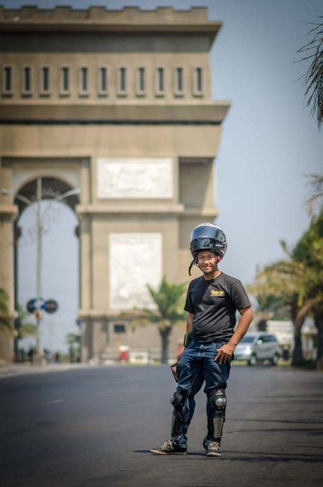Mini Touring Yamaha R Series Owner Club Tulungagung Ke Simpang Lima Gumul Kediri 8
