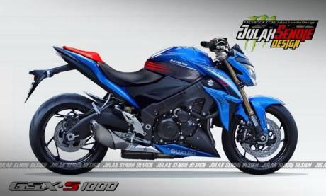 New Suzuki GSX-S 1000 2015
