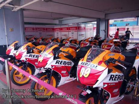 OMR Honda ALL New CBR150R lokal di CKD 2