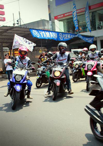 Peserta X-Ride Touring Tangguh Luar Biasa start dari Dealer Mekar (2)