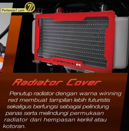 radiator cover  honda CBR150R indonesia