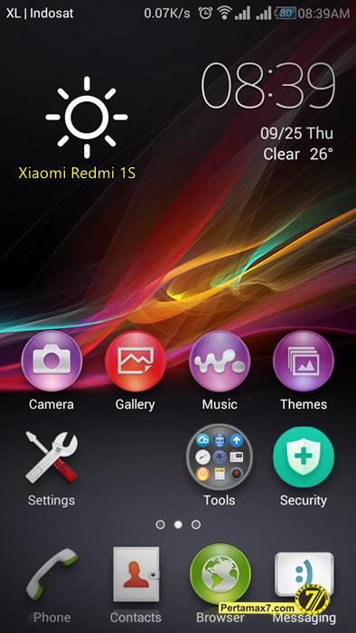 Screenshoot Xiaomi Redmi 1S 0