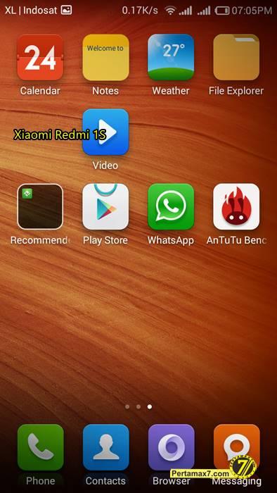Screenshoot Xiaomi Redmi 1S 2