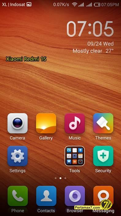 Screenshoot Xiaomi Redmi 1S 3