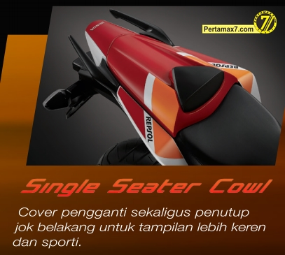 single seater cowl honda CBR150R indonesia