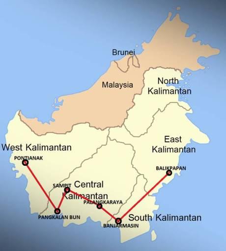 Suzuki Inazuma 250 Taklukkan Pulau Jawa dan Kalimantan 2