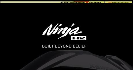 teaser kawasaki ninja H2