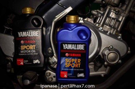Uji Oli Yamalube Super Sport Full Syntethic vs Yamalube sport