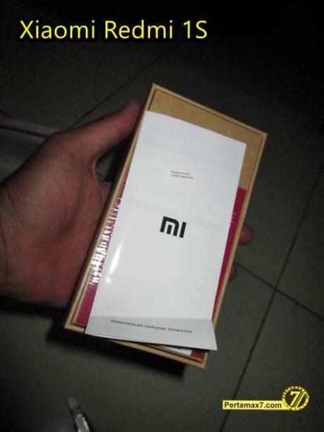 Unboxing Xiaomi Redmi 1S Lazada Pertamax7 6