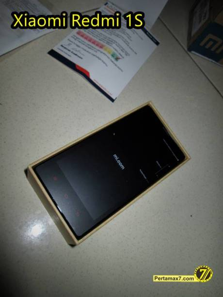 Unboxing Xiaomi Redmi 1S Lazada Pertamax7 9
