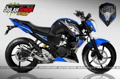 Yamaha Byson New biru