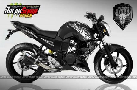 Yamaha Byson New hitam