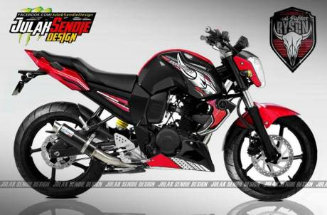 Yamaha Byson New merah
