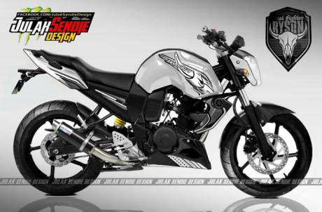 Yamaha Byson New putih