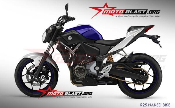 Yamaha MT-25 photoshop0