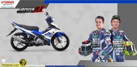 yamaha New Jupiter MX  motogp edition