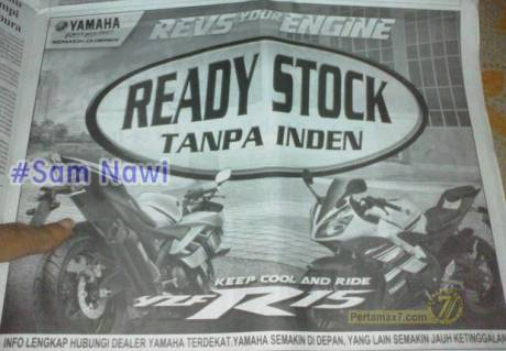 yamaha r15 ready stock di malang zoom