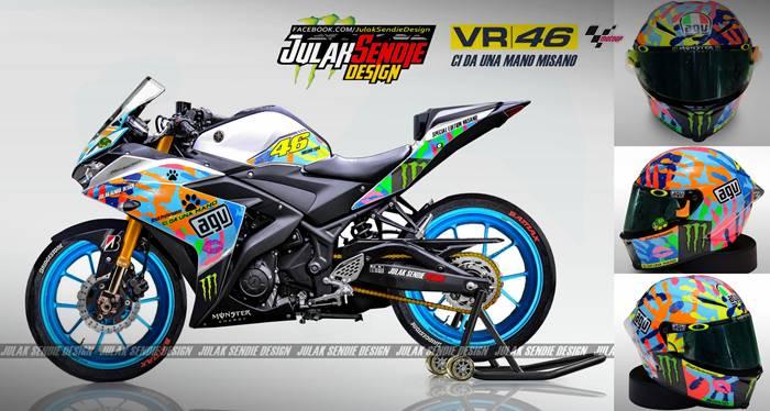 Yamaha R25 Rossi Misano Edition