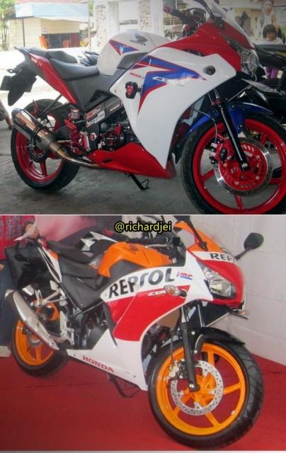 Adu ganteng ALl New Honda CBR150R Indonesia VS New CBR150R Thailand 1