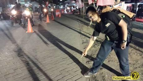 arena testride all new honda CBR150R lokal di Tulungagung  jatim