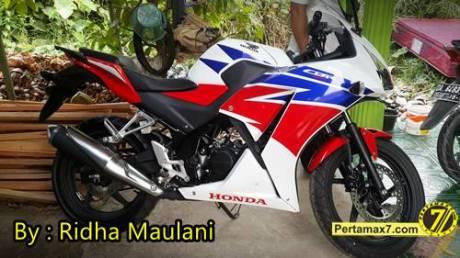 Dapet hadiah Tiket Meet N greet Marquez dan Pedrosa, Rider All new Honda CBR150R asal Kalsel bahagia sampai panas dingin 0