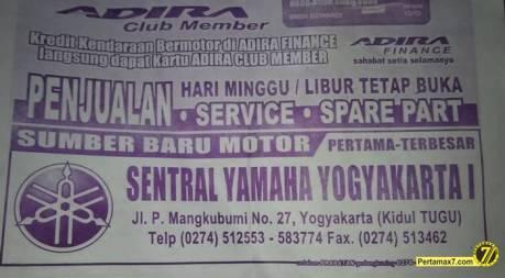 dealer sentral yamaha yogyakarta 1