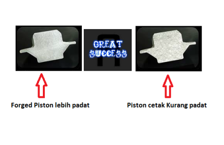 forged piston vs konventional Piston
