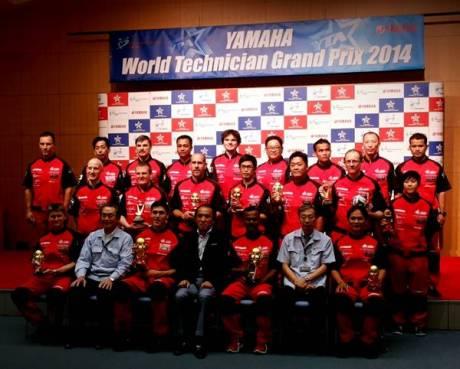 Foto bersama peserta WTGP 2014 (Asep Sumpena kacamata baris kedua berdiri)