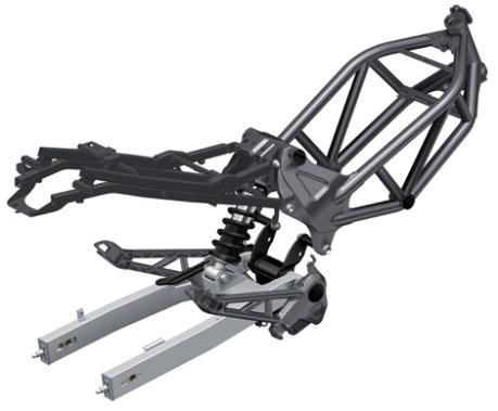 frame Honda VTR 250 2014