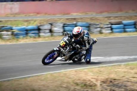 Fun Race Skyland Sekayu  Team Suzuki Racing Tunjukan Keputusan Terbaik Bagi Safety Pebalap 1