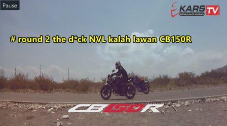 ganti rider yamaha new vixion kalah vs hnda CB150R round 2