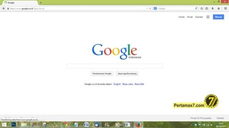google.co.id on firefox