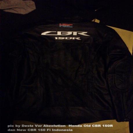 hadiah jaket Honda all new CBR150R lokal 2