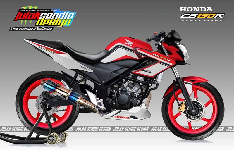 Velg Ala Julak Sendie, Warna Warna » honda CB150R new Facelift 2015