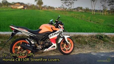 Honda CB150R repsol Half Fairing 1