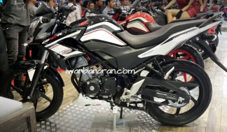 Honda Cb150R striping baru Facelift 2015 0