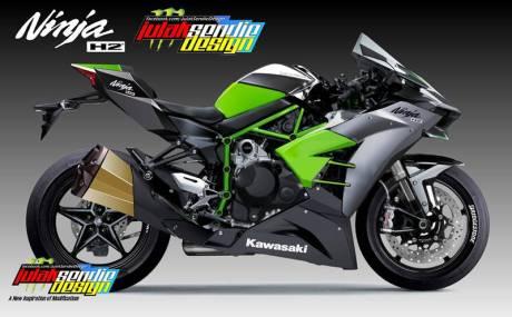 Kawasaki Ninja H2 Full Fairing Concept