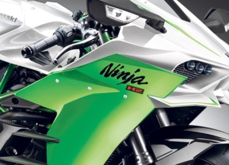 kawasaki ninja H2 street legal headlamp