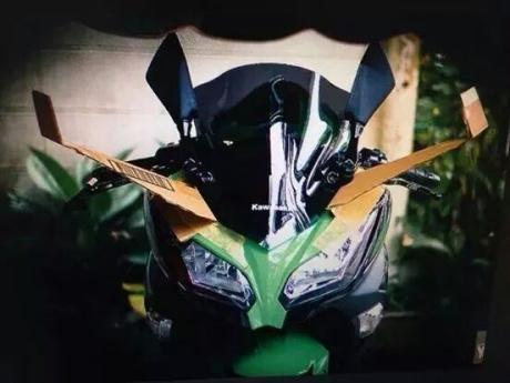 kawasaki ninja-h250r