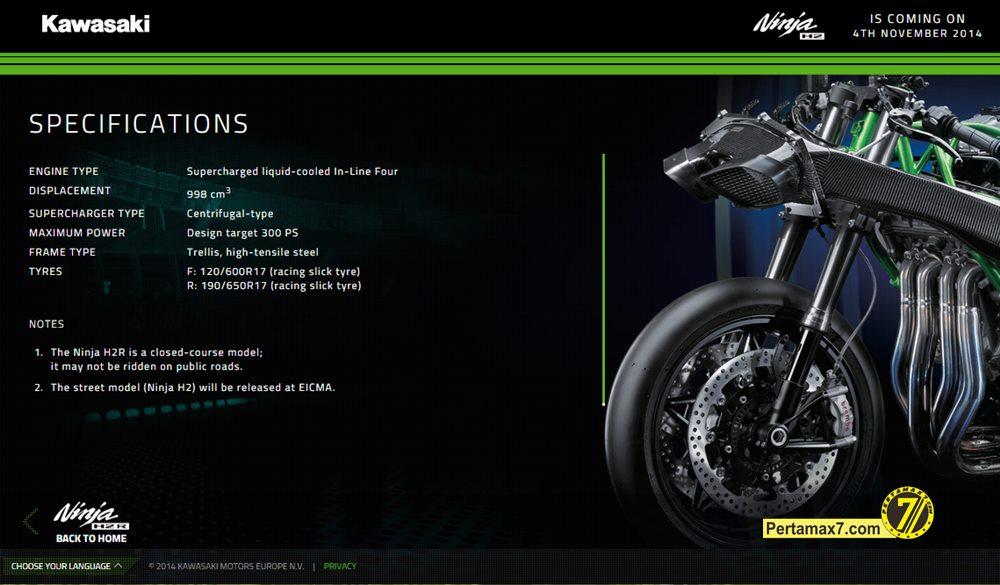 Kawasaki Ninja H2r Specs Maxabout