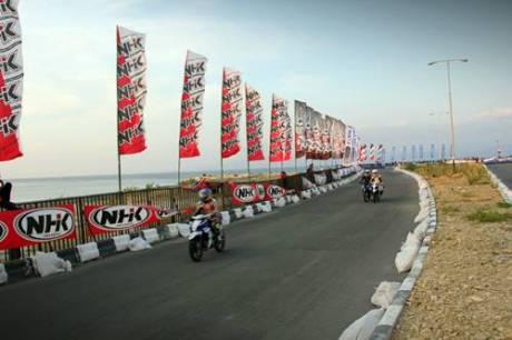 Kualifikasi Seri 8 Yamaha Cup Race di area Pantai Donggala Sulawesi Tengah (3)