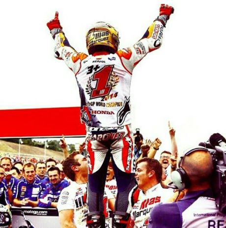 marc marquez world champion motogp 2014