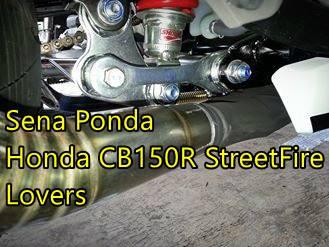 Modifikasi Honda CBR150R lokal Senaponda 0