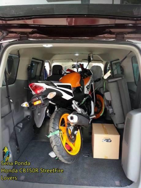 Modifikasi Honda CBR150R lokal Senaponda 1