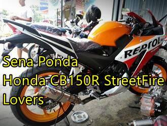Modifikasi Honda CBR150R lokal Senaponda 3