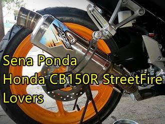 Modifikasi Honda CBR150R lokal Senaponda 5