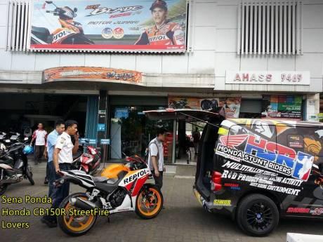 Modifikasi Honda CBR150R lokal Senaponda 7