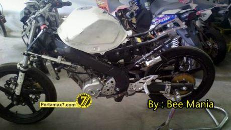 persiapan yamaha new Vixion Hendra rusbule jelang IRS SPORT seri 4 Skyland pertamax7.com 2