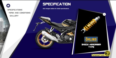 shock ohlins for yamaha R15
