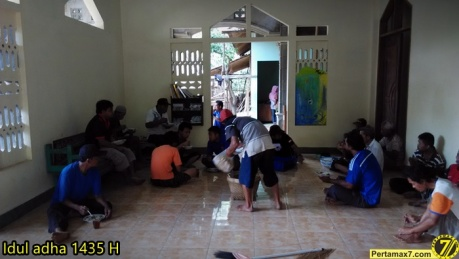 Suasana Idul Adha 1435H di Wonogiri Pertamax7.com 4